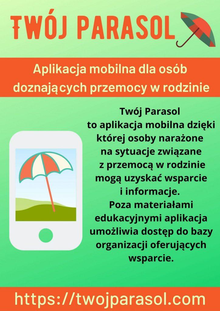 """Aplikacja """"Twój parasol"""" – OPS Gliwice"""